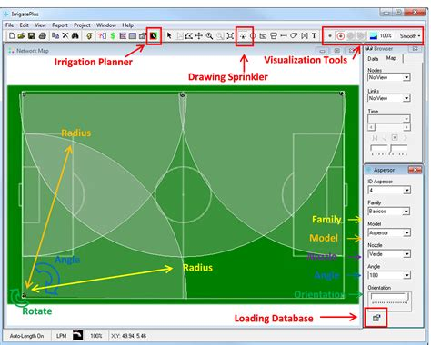 irrigation layout software irrigateplus epanet irrigation software water simulation