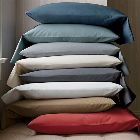 Supima Cotton Percale Sheets | 400 thread count supima 174 percale sheets the company store