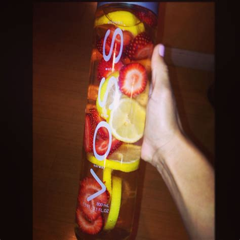 Speed Detox Drink by Strawberry Lemon Infused Detox Water Naturally Flavored