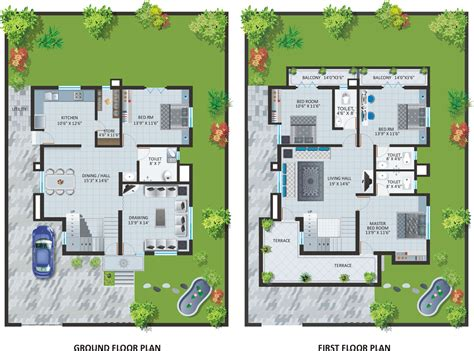 bungalow blueprints modern bungalow house design with floor plan terrific