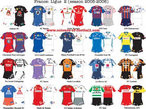 National Leauge Standings by Image Gallery Ligue 2 Teams