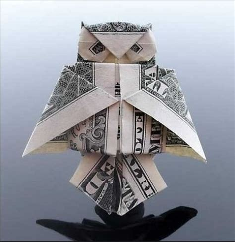 Diy Origami Owl - money origami owl origami and papercraft origami paper