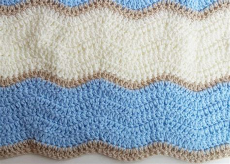 copertine neonato copertina neonato a uncinetto con punto onda fabcroc