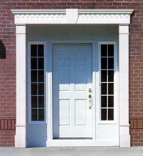Exterior Door Surrounds Door Surround Pilasters