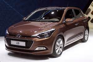 we get up with the new 2015 hyundai i20