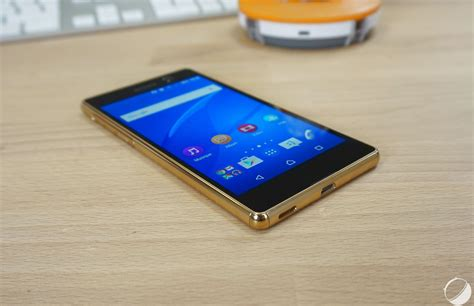 Hp Android Sony M5 test sony xperia m5 notre avis complet smartphones