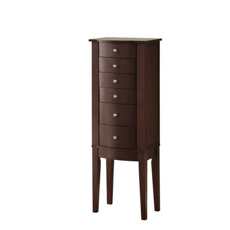 Powell Armoire by Powell Furniture Merlot Jewelry Armoire 398 315