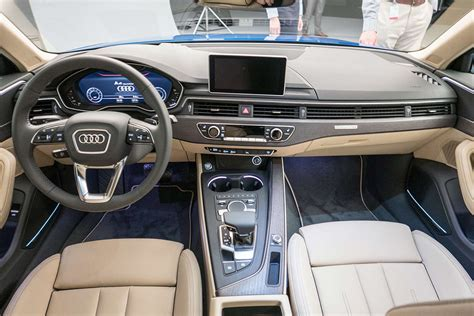audi a4 2016 interior india bound 2016 audi a4 all you need to know motoroids