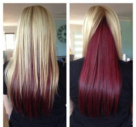 blonde hair  red  hair colors ideas