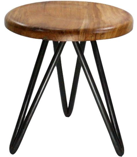 Stool Wood And Metal by Metal And Wood Stool In Modern Bar Stools