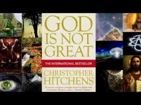 god is not great 1843545748 god is not great christopher hitchens audio book p1 youtube