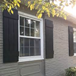 exterior window painting diy outdoor shutters mindfully gray