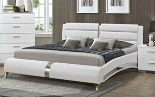 Modern Platform Bed Palermo Modern Platform Bed Collection
