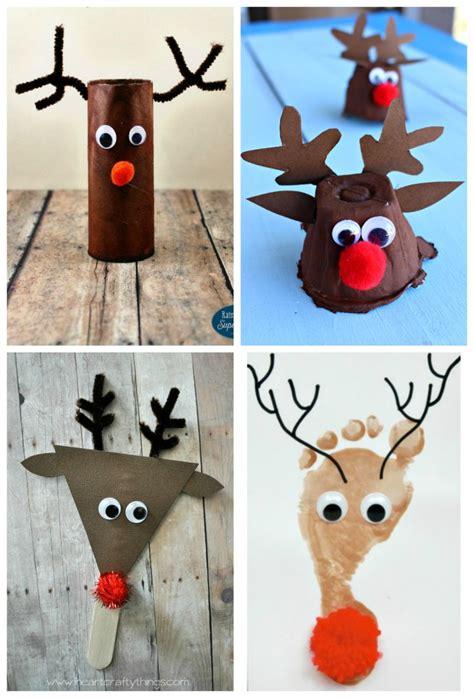reindeer craft for top ten reindeer kid crafts the resourceful