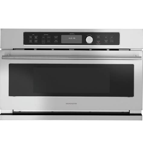 Microwave Type Convection zsc1201jss monogram built in oven with advantium