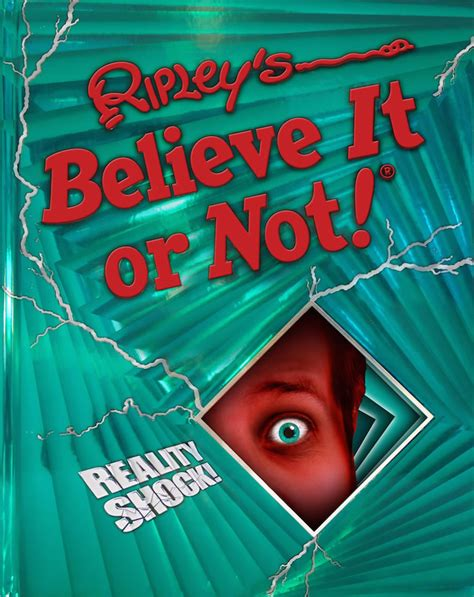 believe books reality shock ripley s believe it or not