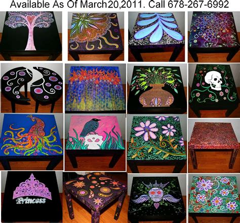 funky home decor funky home decor painted coffee tables nightstands