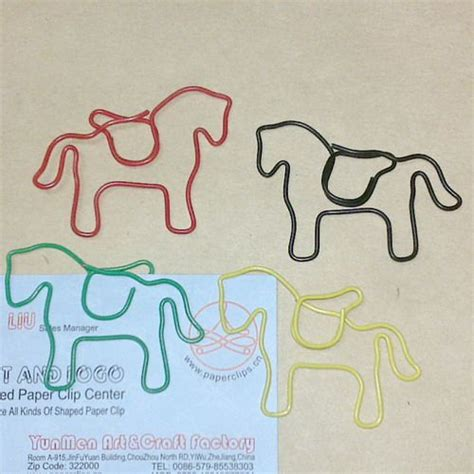 How To Make A Shaped Paper Clip - shaped paper paperclips paper