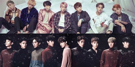 exo vs bts 2017 uk tv show airs special episode about bts and exo rivalry