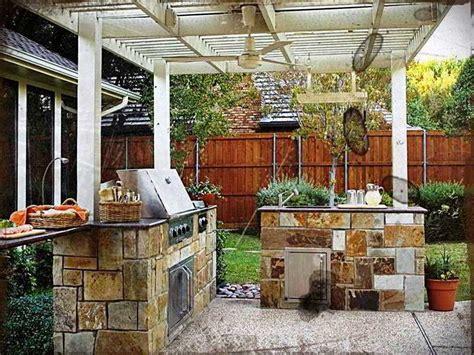 Desain Dapur Semi Outdoor | desain dapur terbuka dengan taman desain dapur terbuka