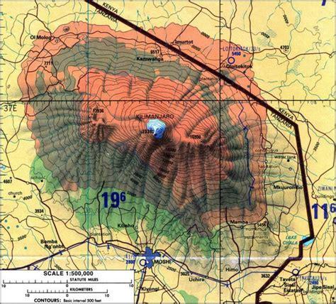 mt kilimanjaro map county to scale mt kilimanjaro prince edward county news countylive ca