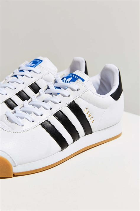 Adidas Sneaker Sole Iphone All Hp adidas originals samoa perforated gum sole sneaker in white lyst