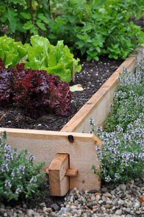 vegetable garden border ideas top 28 surprisingly awesome garden bed edging ideas