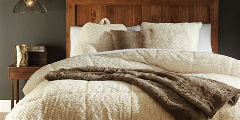 faux fur bedding set cannon faux fur comforter ivory home bed bath bedding comforters