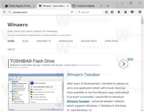 mozilla default themes here are new compact themes in firefox 53 winaero