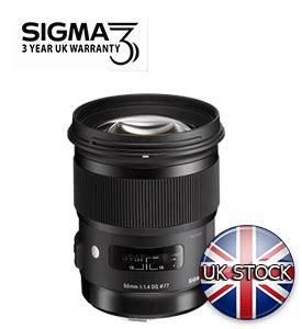 Sigma 50mm F1 4 Dg Hsm A uk store ltd sigma 50mm f1 4 dg hsm a