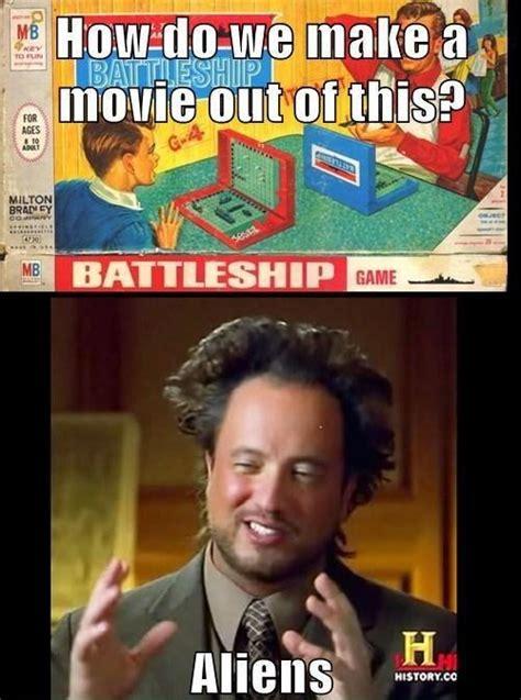 Aliens Meme Original - the battleship ancient aliens know your meme