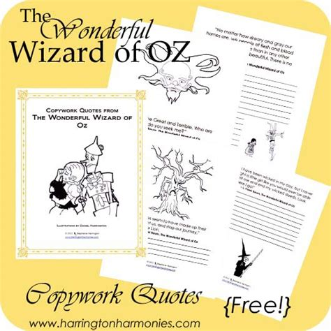 the wonderful wizard of oz book report printable wizard of oz quotes quotesgram
