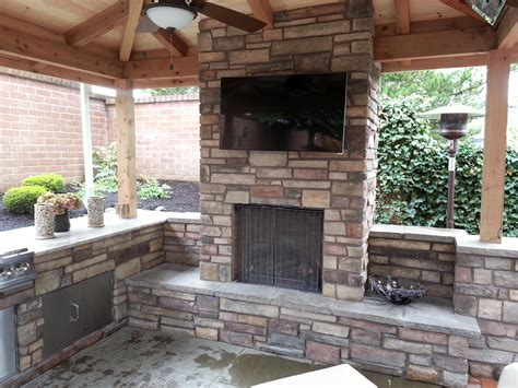 Outdoor Fireplace Outdoor Living Outdoor Kitchen Outdoor Kitchen And Fireplace