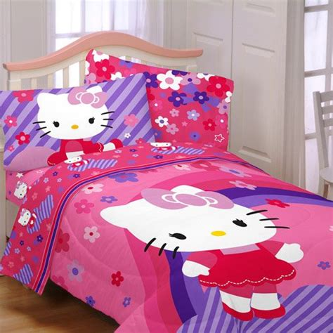 hello kitty bed sets 12 cute hello kitty bedding sets for girls