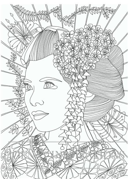 coloring pages for adults faces 4036 best images about kymkreates digis on