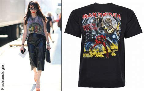 Iron Maiden European Tour Tees shirt iron maiden tendances de mode