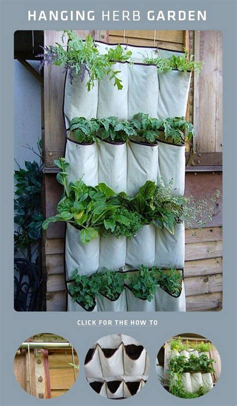 hanging indoor herb garden 36 cool indoor and outdoor vertical garden ideas hanging