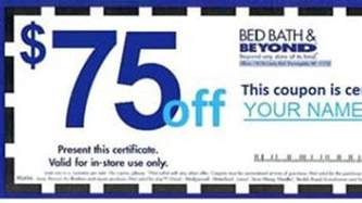 bed bath beyond s day coupon on is