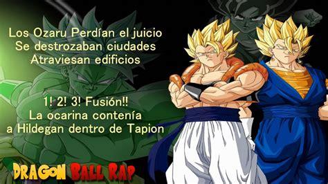 imagenes goku rap porta dragon ball rap letra youtube