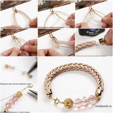 How To Make Macrame Bracelets Step By Step - diy interwoven cord bracelet fab diy