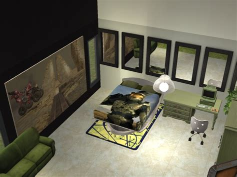 halo bedroom furniture mod the sims halo 3 bedroom set nl required for painting