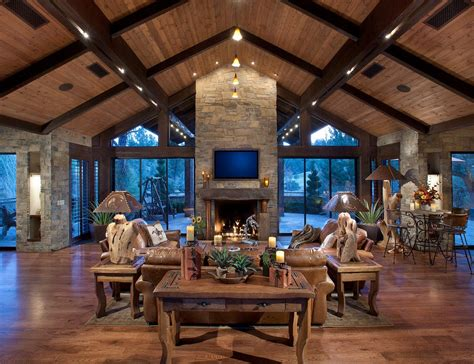 Outdoor Living Room With Fireplace great room fireplace living room rustic with great room