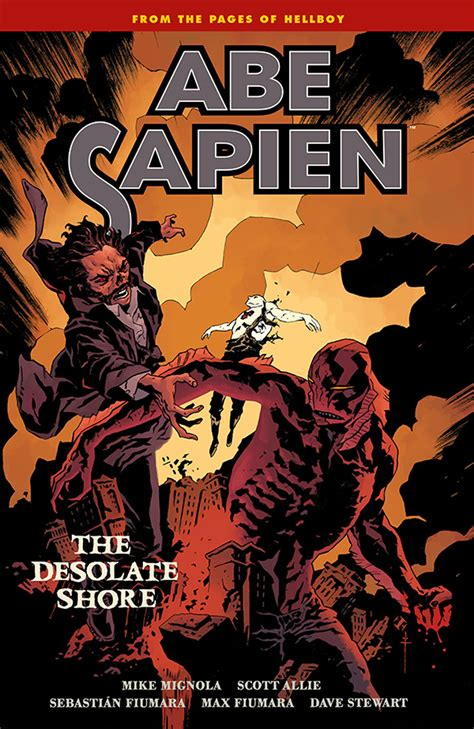 abe sapien and terrible volume 1 books exclusive look at abe sapien vol 8 b p r d