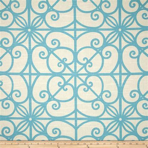 trellis fabric home accent puerta trellis robin s egg discount designer