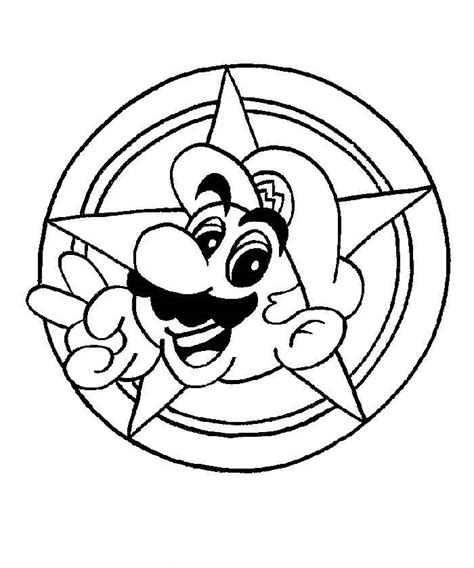 cartoon coloring pages mario coloring pages to print