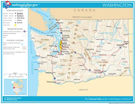 Washington State Address Lookup Washington State Maps Interactive Washington State Road Maps State Maps