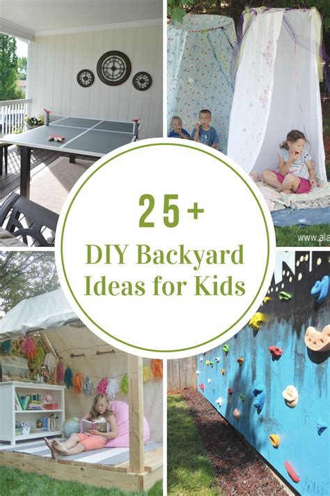 Diy Ideas For Backyard Diy Backyard Ideas For The Idea Room