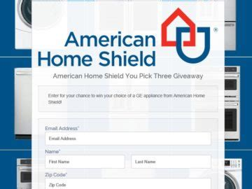 american home shield you three giveaway sweepstakes