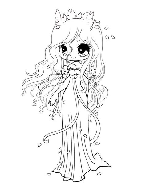 chibi coloring pages chibi coloring pages free printable chibi coloring pages