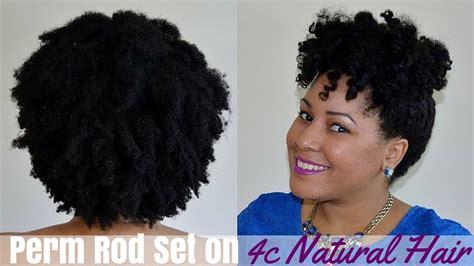 perm rods 4c hair my 4c natural hair perm rod set healthyhair4summer